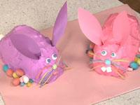 Bánh gato hình chú thỏ làm như thế nào nhỉ?