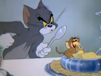 Jerry được mời ăn tối!