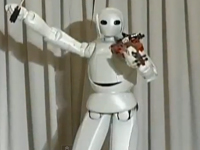 Robot biết chơi violin