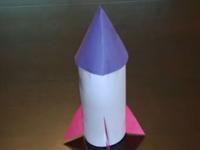 Cách làm tên lửa bằng giấy