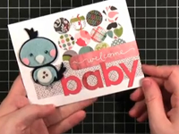 Thiệp tặng cho em bé