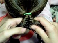 Tết tóc đuôi cá