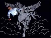 Bức tranh con ngựa khổng lồ