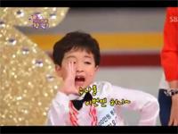 Cậu bé nhảy dễ thương