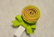 Nơ hình kẹo mút