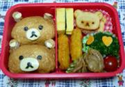 Hộp cơm hình chú gấu dễ thương