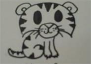 Vẽ con hổ