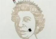 Chân dung nữ hoàng bằng tiền