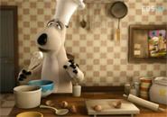 Gấu Bernard nấu ăn