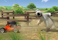 Gấu Bernard: Máy xén cỏ