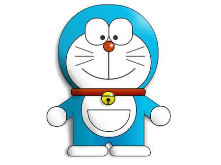 Học vẽ chú mèo máy Doraemon