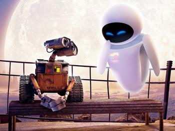 Wall - E Robot biết yêu