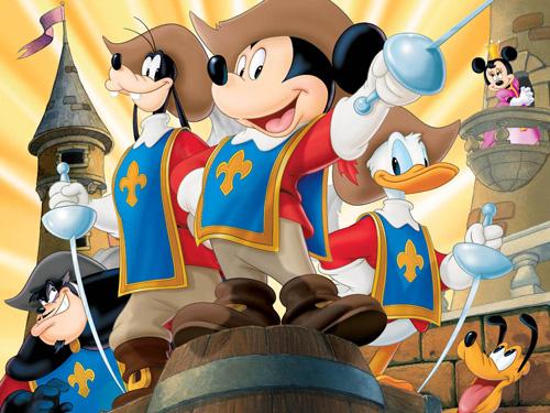 Mickey Donald Goofy: Ba Chàng Lính Ngự Lâm