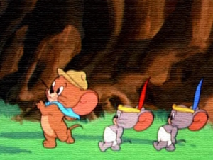 Tom and Jerry chiến binh da đỏ