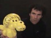 Làm chú sư tử từ bóng