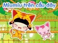 Miumiu trên cầu dây