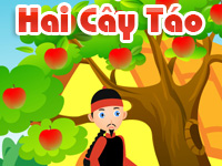 Hai cây táo